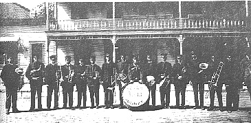 Early Kirby Band Marching Unit